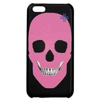 HANDSKULL Rebel Pink - iPhone 5C Glossy Finish Cover For iPhone 5C