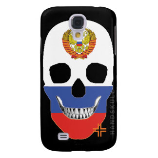 HANDSKULL Russian - Samsung Galaxy S4, Barely Ther Galaxy S4 Case