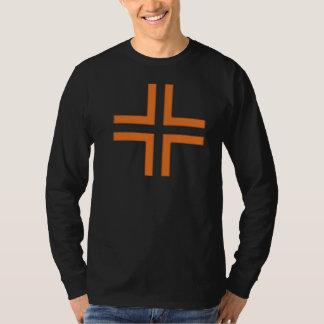 HANDSKULL Trevligt att Träffas - Cross Basic Long T-Shirt