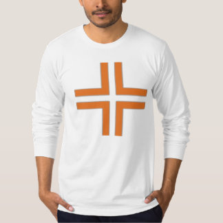 HANDSKULL Trevligt att Träffas - Cross Jersey Long T-Shirt