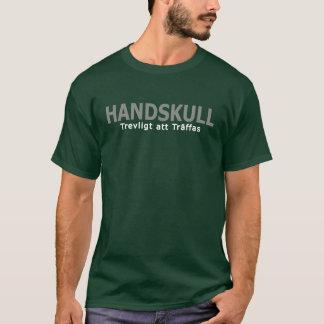 HANDSKULL Trevligt att Träffas - T-Shirt Basic Dar