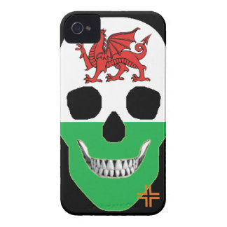 HANDSKULL Wales - IPhone 4 Barely There Univ iPhone 4 Case