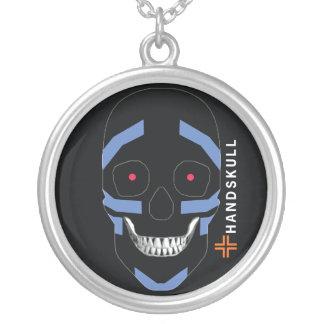 HANDSKULL Warrior,Happy skull,Warrior flag Pendant