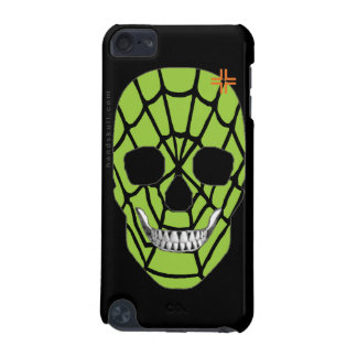 HANDSKULL Web Green - iPod Touch 5g Barely iPod Touch (5th Generation) Cover