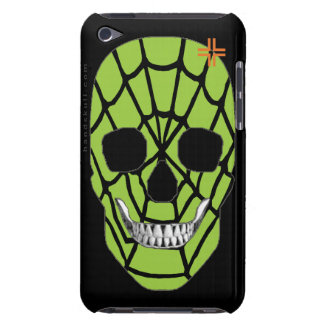 HANDSKULL Web Green - iPod Touch Barely 4th Genera Barely There iPod Case