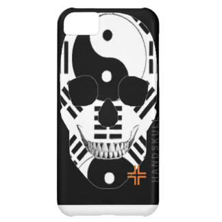 HANDSKULL Yin Yang iPhone 5C Barely There Case-Mat iPhone 5C Case