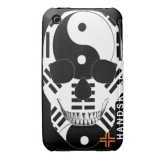 HANDSKULL Ying Yang - IPhone 3G 3GS Case Barely Case-Mate iPhone 3 Cases