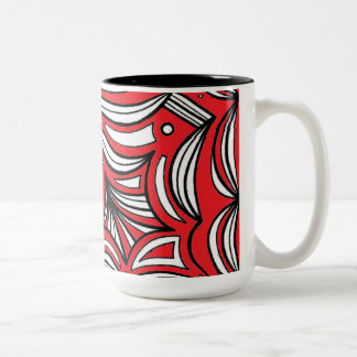 Handsome Affable Skilled Fearless Two-Tone Mug