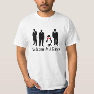 Handsome At A Glance Penguin 1 T-Shirt