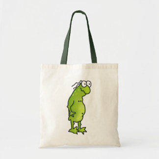 Handsome Frog Tote Bag