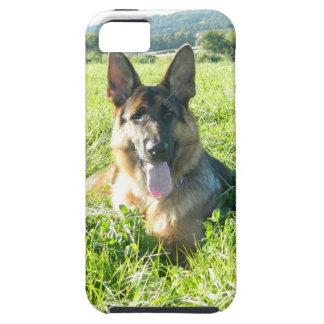 Handsome German Shepherd Dog iPhone 5 Cover