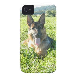 Handsome German Shepherd Dog Case-Mate iPhone 4 Case