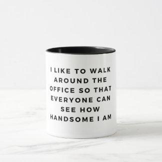 Handsome hunk mug