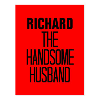 Handsome Husband Postcard