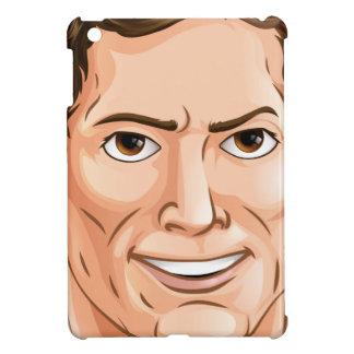 Handsome man iPad mini cases
