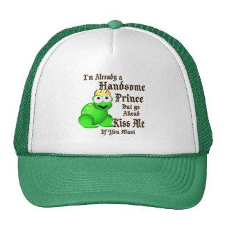 Handsome Prince Trucker Hats