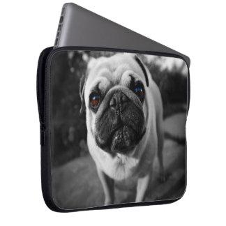 Handsome Pug Laptop Sleeve