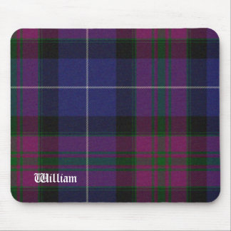 Handsome Purple Pride of Scotland Tartan Plaid Mouse Mat