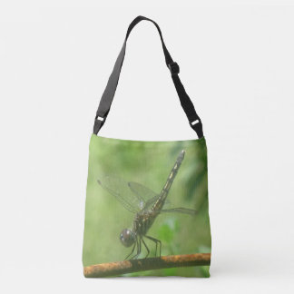Handstand Dragonfly Crossbody Bag