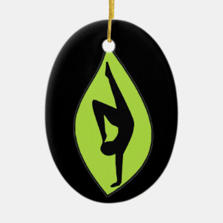 Handstand Silhouette Ornament - Yoga Gift