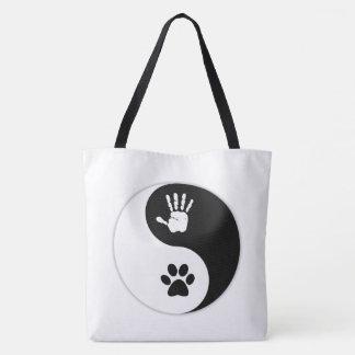 HandToPaw Yin-Yang Tote Bag