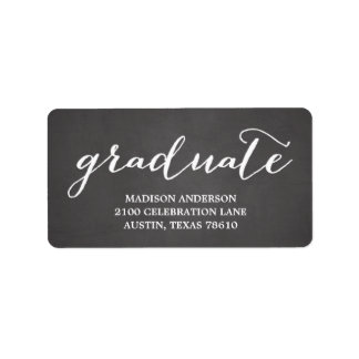 Handwritten   Graduation Address Label