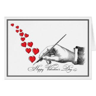 Handwritten Valentine Card