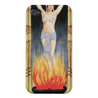 Handy Bandy & Nadia Nadyr Vintage Magic Act iPhone 4/4S Cover