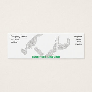 Handyman/Carpenter/Joiner Business Card