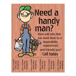 Handyman Carpenter Plumber Painter Earn Money Flyer
