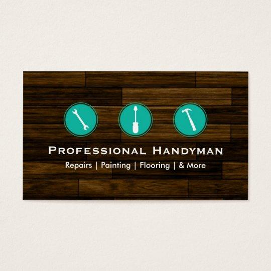 Handyman Construction Business Cards