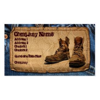 Handyman, Construction, Maintenace Worker Pack Of Standard Business Cards