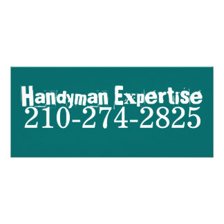 Handyman Expertise, 210-274-2825 Customized Rack Card