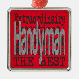Handyman Extraordinaire Christmas Ornament