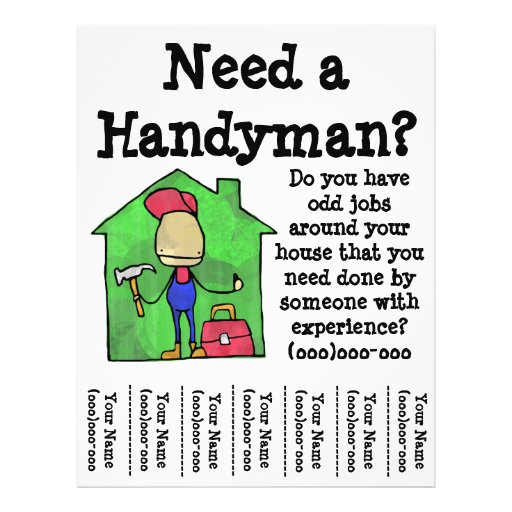 Handyman Flyer Design