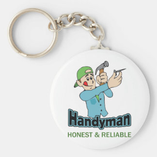HANDYMAN HONEST AND RELIABLE KEY CHAIN