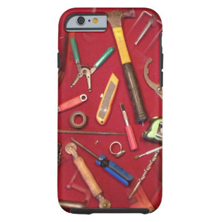 Handyman maintenance and contractor hand tools tough iPhone 6 case