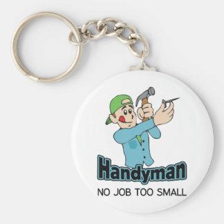 HANDYMAN NO JOB TOO SMALL KEYCHAINS