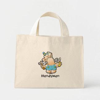 Handyman Tiny Tote Mini Tote Bag