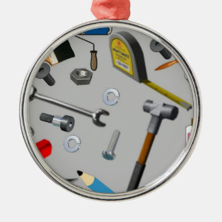 Handyman Tools Christmas Ornament