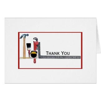 Handyman Tools Note Card