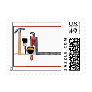 Handyman Tools Stamps