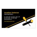 Handyman Working Tools business card