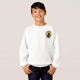 Hanes Comfort Sweatshirt: Math Smart Caveman Sweatshirt