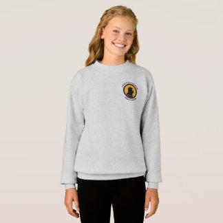 Hanes Comfort Sweatshirt: Math Smart Cavewoman Sweatshirt