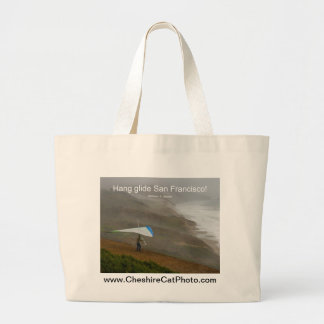 Hang glide San Francisco! California Products Canvas Bags