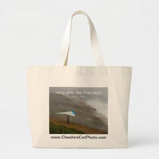 Hang glide San Francisco! California Products Jumbo Tote Bag