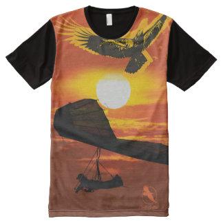 HANG GLIDER HG-30 PontoCentral All-Over Print T-Shirt