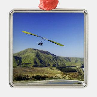 Hang Glider, Otago Peninsula, near Dunedin, Christmas Ornament