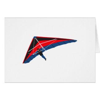 Hang Gliding Greeting Card